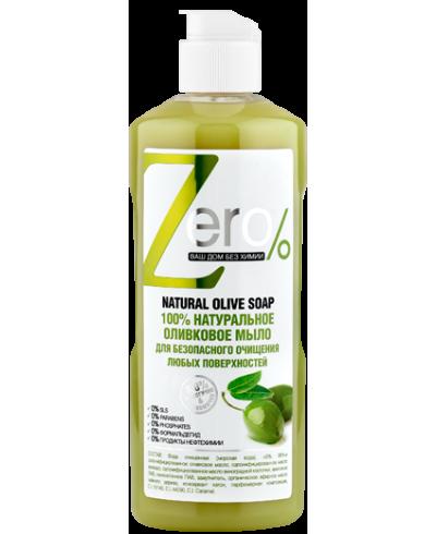 ZERO 100% naturalne mydło z oliwek do czyszczenia różnych powierzchni 500 ml