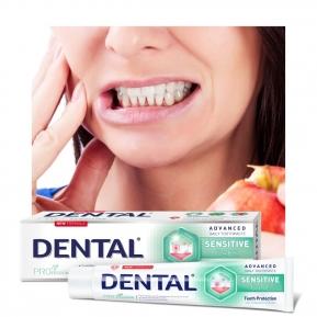 Przedstawiamy Wam receptę na poniedziałek bez bólu❗️😁 Nasza najnowsza w rodzinie 👨👩👧👦 pasta Dental Pro Pielęgnacja wrażliwych zębów i dziąseł, pomoże raz na zawsze pożegnać się 👋 z nadwrażliwością i cierpieniem podczas spożywania ciepłych, zimnych napojów oraz różnego rodzaju potraw❗️➡️ Pasta zawiera chlorek potasu, dzięki czemu zapewnia ochronę nerwów zębowych, zmniejsza ich aktywność i łagodzi nadwrażliwość oraz ból 🥰➡️ To cudeńko znajdziesz w e-commerce @drogerienatura 🥳 Co więcej jest promocja na całą markę Dental❗❗❗😍#elevita #elevitapoland #naturalnapastadozębów #pastazfluorem #zdrowyuśmiech #białezęby #białyuśmiech #zdrowezęby #nowościkosmetyczne #perełkikosmetyczne #odkryciakosmetyczne #stomatologia #stomatolog #dentysta #dentystka #higienistkastomatologiczna #dental #dentalpro #nadwrażliwość #nadwrażliwośćzębów #wrażliwezęby #pielęgnacjajamyustnej