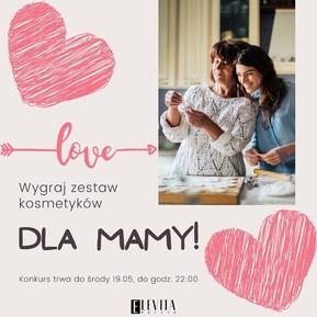 ❗Konkurs❗ Wygraj zestaw kosmetyków dla mamy❗ Zasady są bardzo proste❗1️⃣ Obserwuj profil @elevita_poland 2️⃣ Napisz za co najbardziej kochasz swoją mamę 3️⃣ Oznacz osobę, którą zapraszasz do wspólnej zabawy 4️⃣ Udostępnij ten post na swoim stories dodając oznaczenia @elevita_poland oraz #elevitapoland👉 Bawimy się do środy 19.05, do godziny 22:00❗ Zwycięzcę ogłosimy w czwartek 20.05, także kosmetyki na Dzień Mamy dotrą na czas❗👉W zestawie: czarne mydło do ciała i włosów EoLab, Szampon do włosów z keratyną Cafe Mimi, Maska odżywiająco-regenerująca do włosów zniszczonych i farbowanych Cafe Mimi.#rozadanie #rozdaniekosmetyczne #nowościkosmetyczne #nowość #naturalnapielęgnacja #konkurs #elevitapoland #elevita #konkursyznagrodami #konkurskosmetyczny #konkursykosmetyczne #kosmetykinaturalne #naturalnekosmetyki #kosmetykidowygrania #kosmetykizolejemkonopnym #pielęgnacjawłosów #pielęgnacjaskóry #skincare #skincareproducts #dobrynastrój #sposóbnadobrynastrój #sposóbnadobrydzień #sposóbnadobryhumor #kosmetykidlamamy #dzieńmatki #dzieńmamy